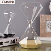 北歐時間石沙漏擺件計時器復古北歐式客廳擺設軟裝飾品結婚禮物 七夕節禮物八八折下殺