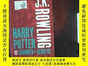 二手書博民逛書店JK罕見ROWLING HARRY POTTER &THE CHAMBER OF SECRETSY239696