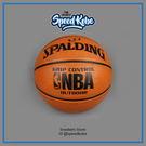 SPALDING 籃球 NBA 黏手Grip Control 橘 黑標 SPA83082【SP】