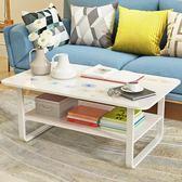 茶幾簡約現代茶幾小戶型矮桌小桌子咖啡創意桌組裝客廳邊幾茶幾【快速出貨】