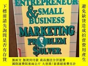 二手書博民逛書店The罕見Entrepreneur and Small Busi