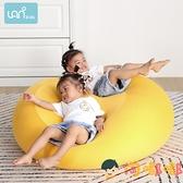 兒童沙發可愛女孩懶人躺臥寶寶幼兒園親子豆袋可拆洗【淘嘟嘟】