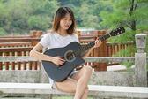 吉他-吉之琳38寸吉他民謠吉他木吉他初學者入門級練習吉它學生男女樂器-印象部落