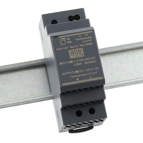 [2美國直購] denkovi 導軌電源 Mean Well HDR-30-12 Industrial DIN Rail Power Supply 12V/2A Out
