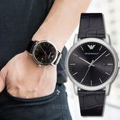 EMPORIO ARMANI 亞曼尼 AR2500 完美風格鱷紋時尚腕錶 熱賣中!