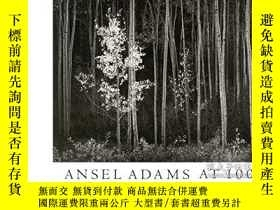二手書博民逛書店Ansel罕見Adams at 100 : A Postcard