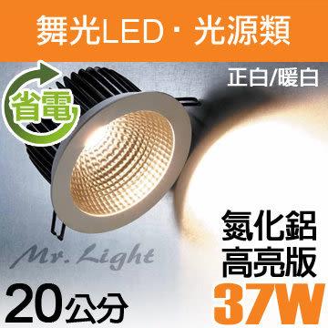 【有燈氏】舞光 LED 20公分 31W 黑鑽石 嵌燈 杯燈 投射燈 筒燈 面板燈【LED-25077】