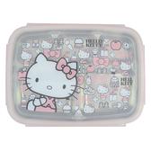 Hello Kitty不鏽鋼隔熱餐盒(大臉)-KS-8155