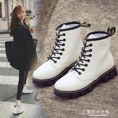 春秋季chic馬丁靴女靴英倫風學生韓國百搭短靴冬天單靴子 【東京衣秀】