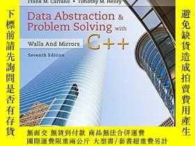 二手書博民逛書店Data罕見Abstraction And Problem Solving With C++Y255562 F