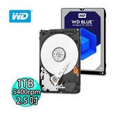 WD 威騰 藍標 1TB 2.5吋硬碟 WD10SPZX