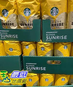 [COSCO代購] C126770 STARBUCKS BLONDE SUNRISE 淺烘焙咖啡豆 每包1.13公斤