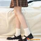 小腿襪日系可愛堆堆襪JK制服襪精梳棉秋冬襪子女中筒短襪【公主日記】【小獅子】