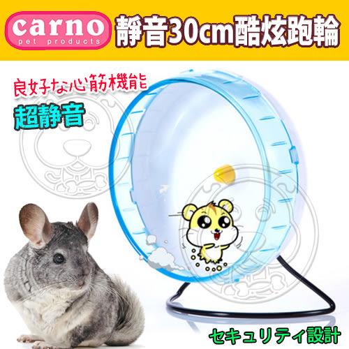 【zoo寵物商城】CARNO》卡諾45-0356超大靜音滾輪30cm酷炫跑輪(松鼠/龍貓用)