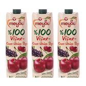 (組)土耳其meysu 100%酸櫻桃葡萄汁1L 3入組
