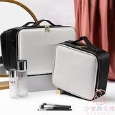 化妝箱化妝包女便攜大容量多功能簡約韓國化妝師包【少女顏究院】