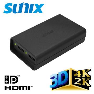 1進2出DisplayPort/ Mini DisplayPort轉HDMI分配器 (DPH2001) SUNIX