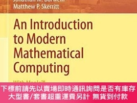 二手書博民逛書店An罕見Introduction To Modern Mathematical ComputingY25517