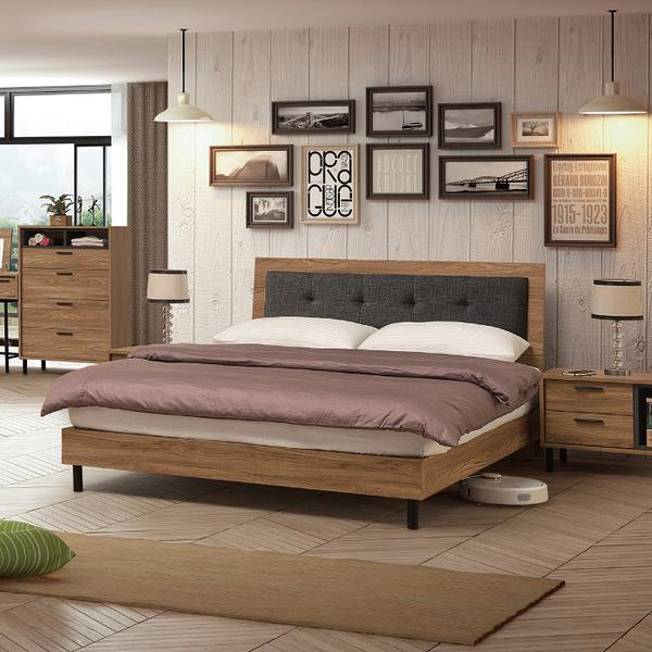 床組 6尺床片型床台 亞伯斯 354-6W 愛莎家居