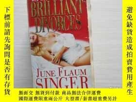二手書博民逛書店BRILLIANT罕見DIVORCES 156Y10970 出版1993