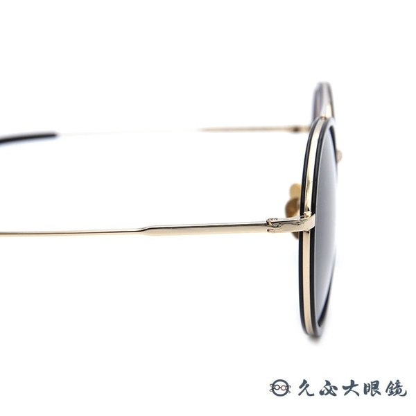LASH 墨鏡 RAGE BKG16 (玳瑁-霧黑) 雙槓 圓框 韓國 太陽眼鏡 久必大眼鏡