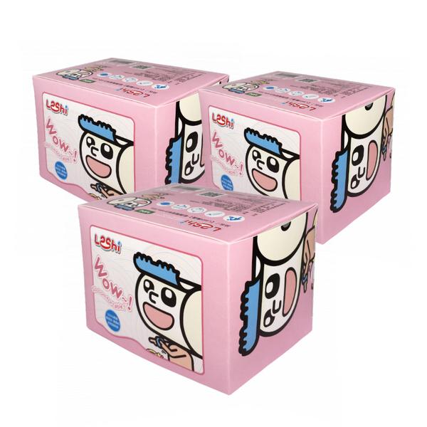 Leshi樂適 - MINI 迷你乾濕兩用布巾88抽 3盒