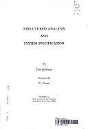 二手書博民逛書店 《Structured Analysis and System Specification》 R2Y ISBN:0917072073│Yourdon Press