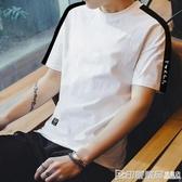 短袖T恤 夏季男士短袖t恤潮流圓領半袖ins薄款韓版打底衫上衣服修身體恤潮 印象家品