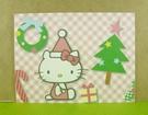 【震撼精品百貨】Hello Kitty 凱蒂貓~卡片-166-6聖誕粉