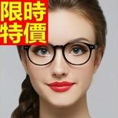 眼鏡架-超輕超韌時尚圓框女鏡框5色64ah5【巴黎精品】