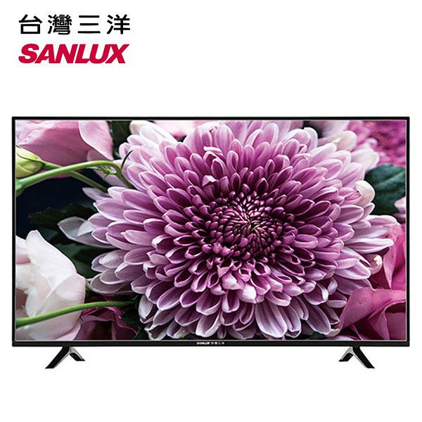 43吋【SANLUX 台灣三洋】4K Ultra 超高畫質液晶顯示器 SMT-43TU1 / SMT43TU1【信源電器】