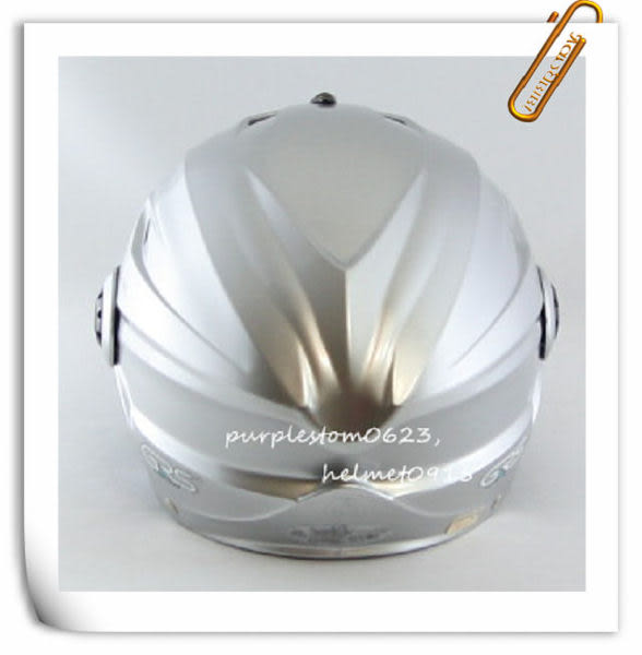 林森●GRS半罩安全帽,半頂式,瓜皮帽,雪帽,760,W鏡片款,銀