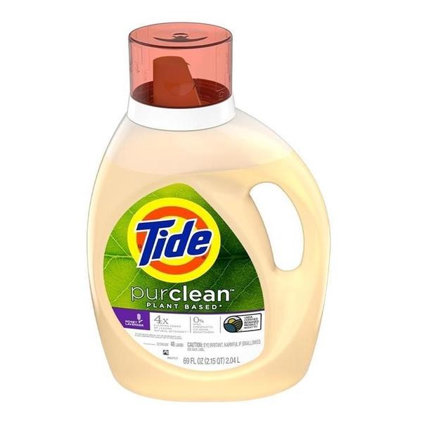 Tide 汰漬 植物配方洗衣精 2.04公升 (2包裝)