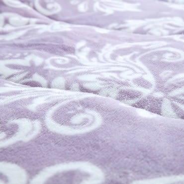 HOLA 可水洗防靜電朵朵法蘭絨毯