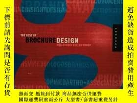 二手書博民逛書店The罕見Best of Brochure Design 8 英