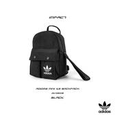 IMPACT Adidas Mini XS Backpack 黑 白 尼龍 迷你 後背包 側背包 多種背法 DV0209