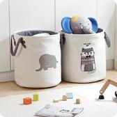 布藝臟衣桶家用衣物玩具收納桶放衣服的臟衣簍折疊臟衣籃YYP 伊鞋本鋪