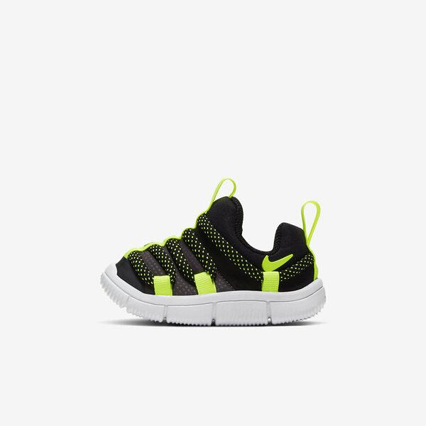 Nike Novice TD [AQ9662-005] 小童 慢跑 運動 休閒 輕量 透氣 舒適 穿搭 包覆 球鞋 黑黃