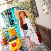 防曬衣女新款普吉島海邊度假波西米亞韓版沙灘外搭雪紡衫外套 街頭布衣
