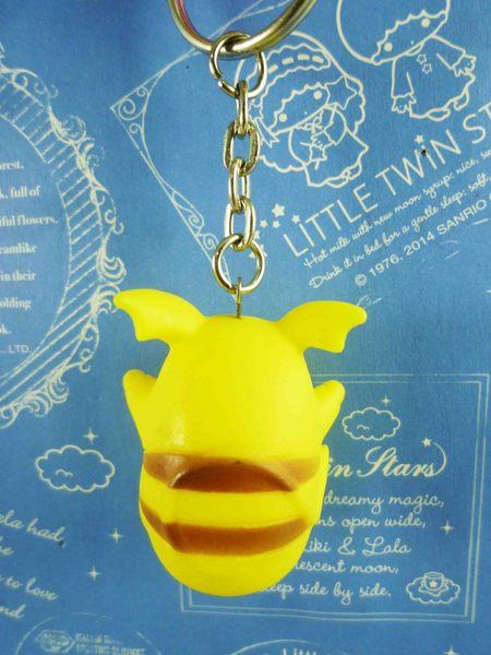 【震撼精品百貨】神奇寶貝_Pokemon~鎖圈/鑰匙圈-皮卡丘-羞羞臉招手