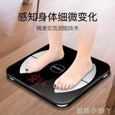 電子秤智慧秤充電電子稱體重秤家用人體體質精準成人稱重測脂肪 NMS蘿莉小腳丫