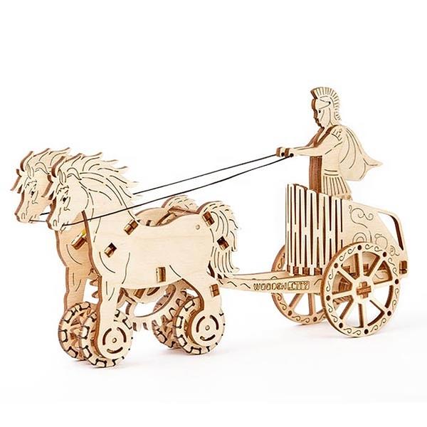 WOODEN.CITY 羅馬帝國戰車 Roman chariot
