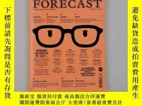 二手書博民逛書店Monocle特刊罕見The Forecast 2015 創刊號展望2015 英文原版雜誌Y222989