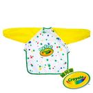 美國Crayola繪兒樂 幼兒可水洗塗鴉罩衫 麗翔親子館