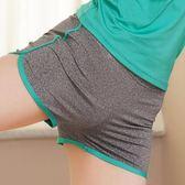 速干彈力運動短褲女子顯瘦夏季跑步瑜伽緊身健身訓練熱褲子【米蘭街頭】