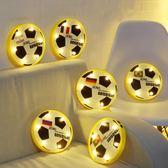 2018俄羅斯世界杯足球擺件酒吧主題裝飾燈LED臺燈壁燈球迷紀念品-Ifashion IGO
