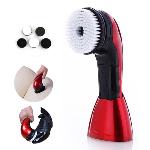 現貨 ! 多功能清潔刷具組 自動擦鞋器  有影片!