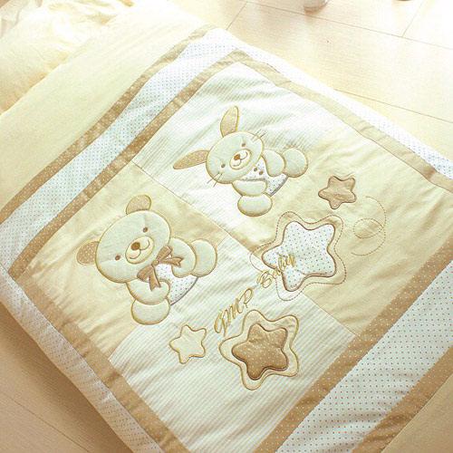 GMP BABY  睡熊抗蹣純棉幼童睡袋~米色1件