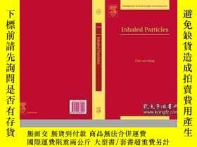 二手書博民逛書店Inhaled罕見Particles Volume 5 (interface Science And Techno