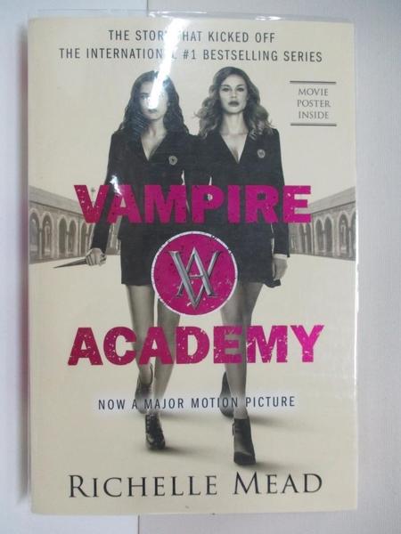 【書寶二手書T1/原文小說_BSB】Vampire Academy_Mead, Richelle